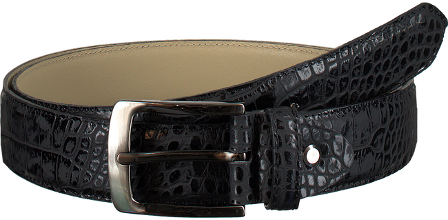 Black REHAB Belt BELT CROCO VERNIZ - large