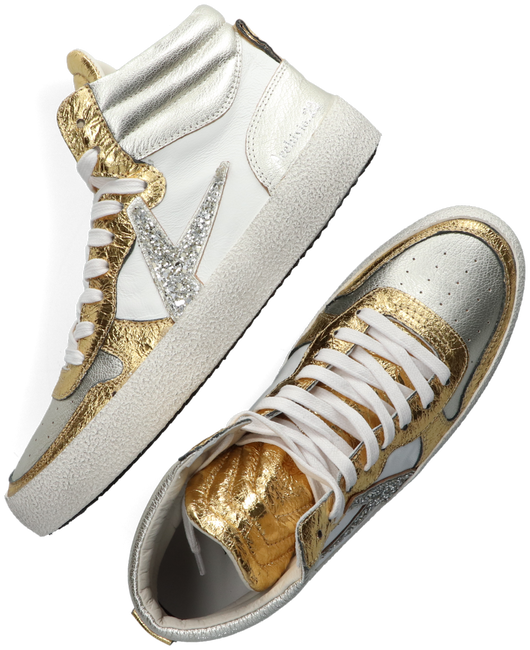 Gold ARCHIVIO 22 High sneakers DEVILLE MID  - large