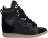 Black LEMARÉ High sneakers 2553  - small
