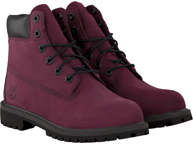 Purple TIMBERLAND Ankle boots 6IN PRM WP BOOT KIDS - large