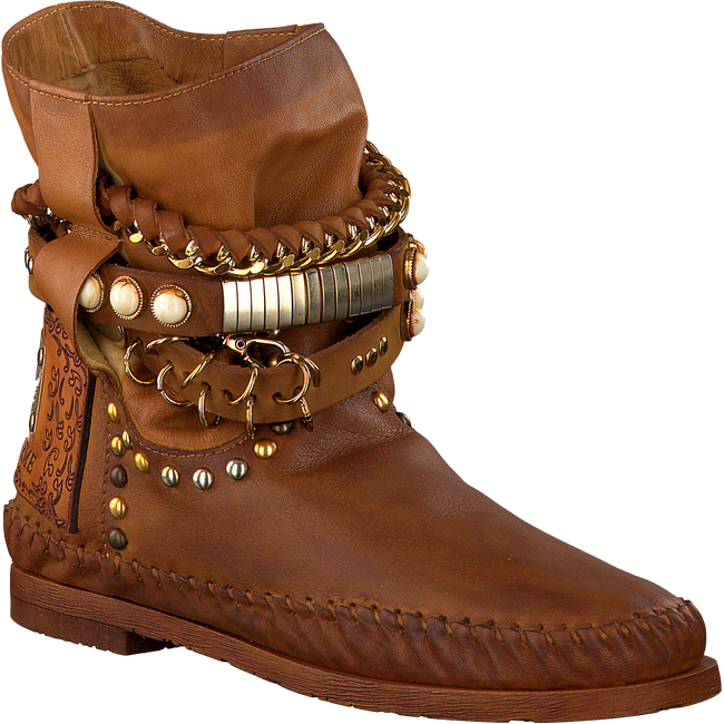 Cognac KARMA OF CHARME Booties STRA2 QUEEN - large