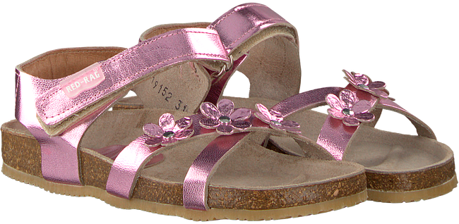 Pink RED RAG Sandals 19152 - large