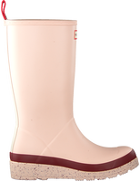 Pink HUNTER Rain boots WOMENS PLAY TALL SPECKLE SOLE  - medium