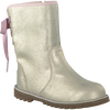 Gold UGG High boots CORENE METALLIC - small