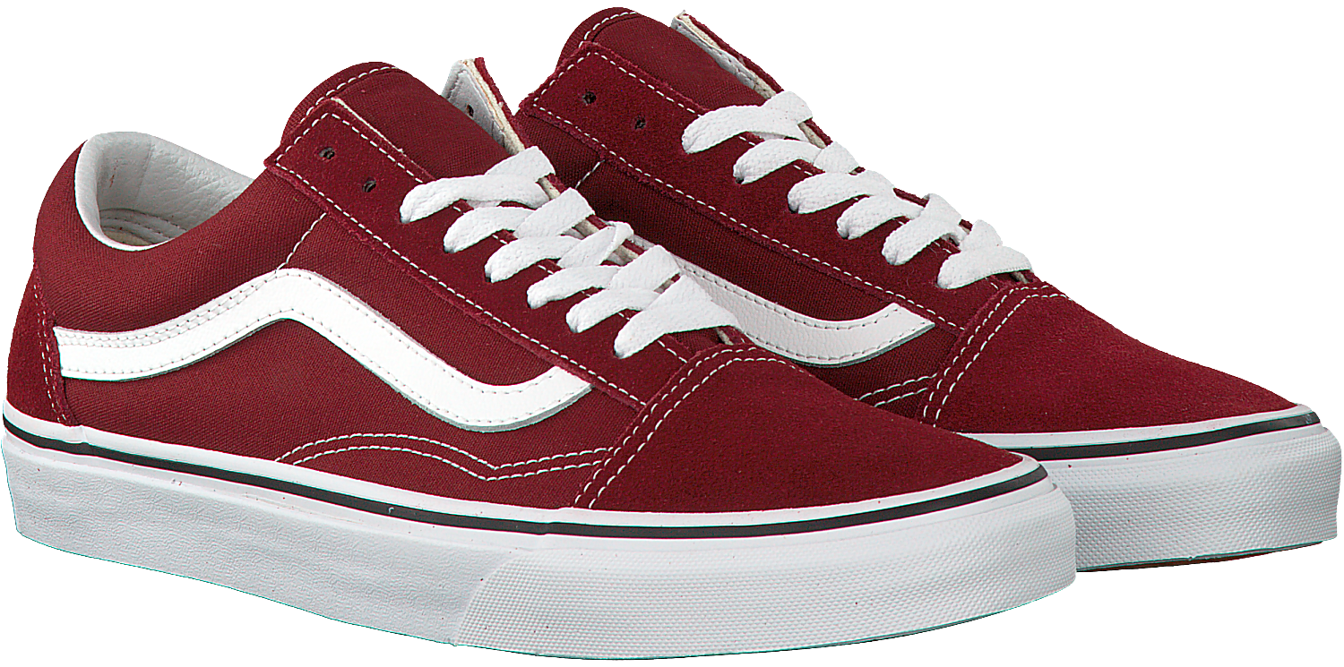 Red VANS Sneakers OLD SKOOL MEN - Omoda.com
