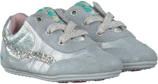 Silver BUNNIES JR Baby shoes ZOE ZACHT - large