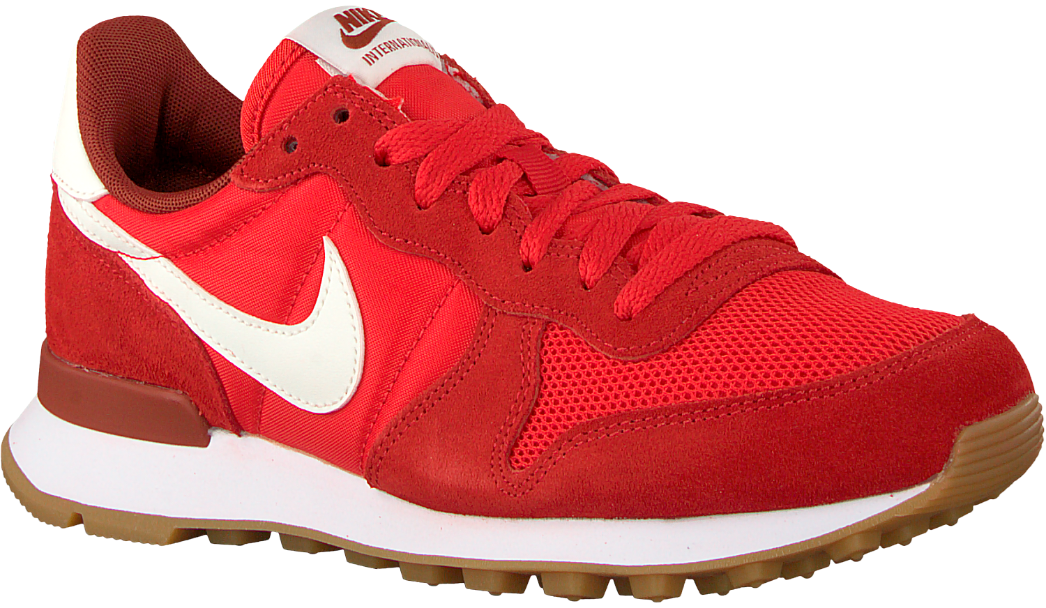 Red NIKE Sneakers INTERNATIONALIST WMNS - Omoda.com