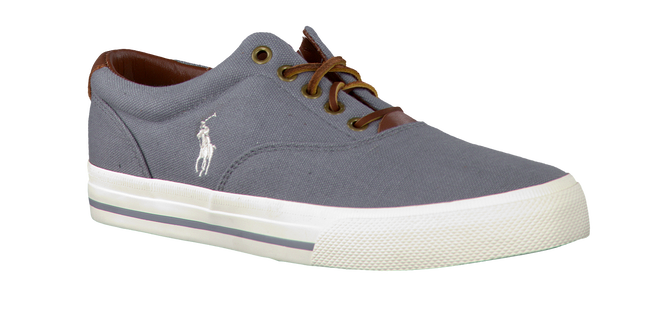 Grey POLO RALPH LAUREN Lace-ups VAUGHN - large