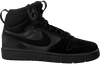 Black NIKE High sneakers COURT BOROUGH MID WINTER KIDS  - small