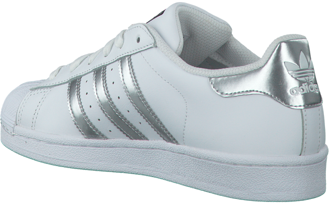 White ADIDAS Sneakers SUPERSTAR DAMES - large
