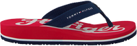 Red TOMMY HILFIGER Flip flops BASEBALL PRINT FLIP FLOP  - medium