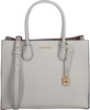 White MICHAEL KORS Handbag LG CONV TOTE - small