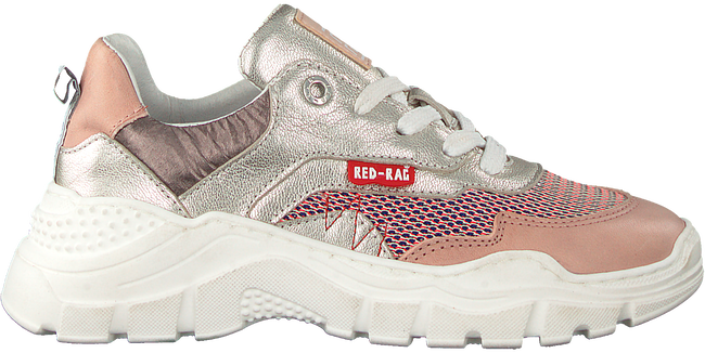 Silver RED-RAG Low sneakers 13282  - large