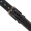 Black REHAB Belt BELT CROCO VERNIZ - small