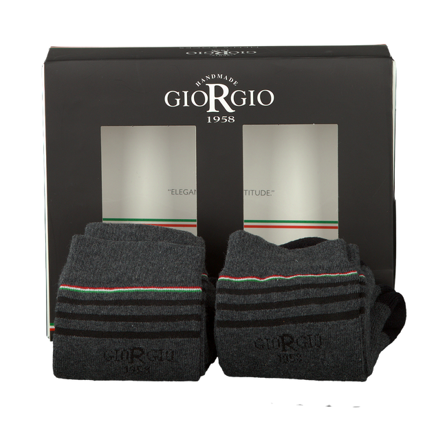 Grey GIORGIO Socks ASSORTIMENT - large