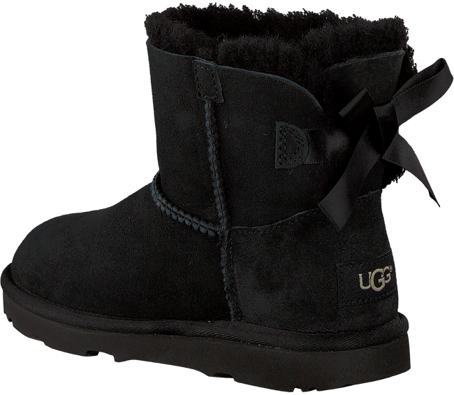 Black UGG Classic ankle boots MINI BAILEY BOW II KIDS - large