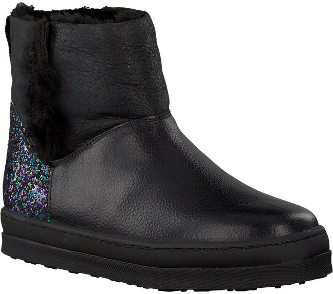 Black UNISA Classic ankle boots FLORY_GR_GL - large