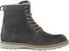 Grey BJORN BORG Lace-up boots MILAN GR HIGH FUR - small