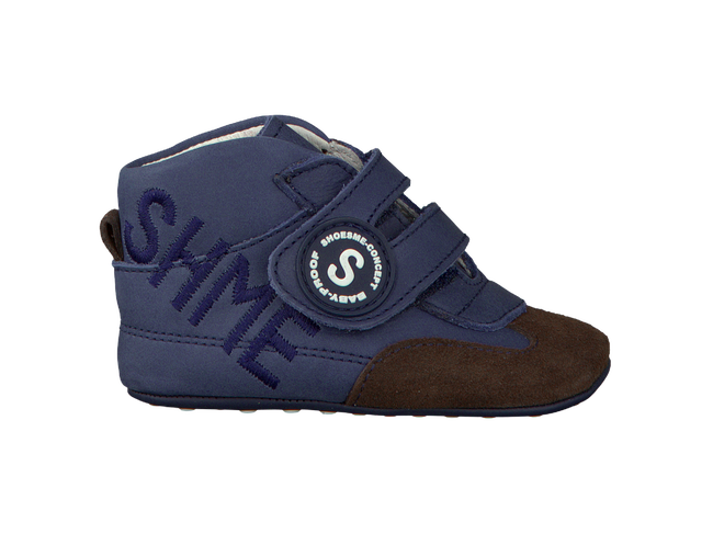 Blue SHOESME Baby shoes BP110492 - large