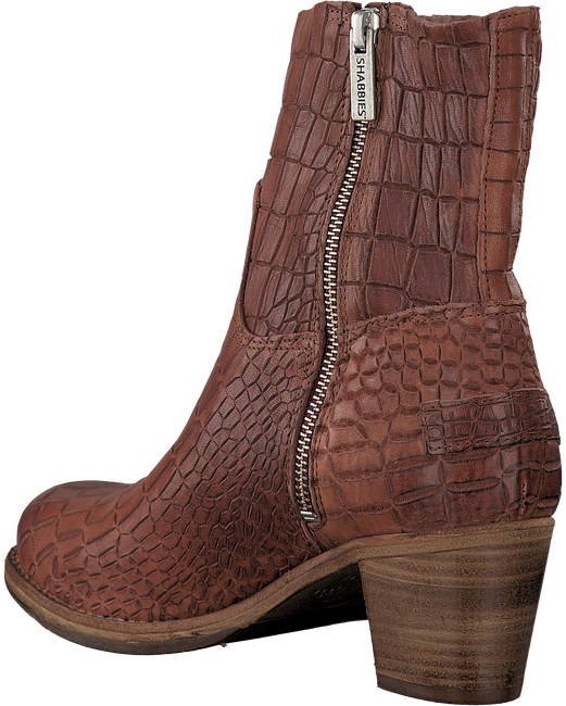 Brown SHABBIES Booties 250108 - large