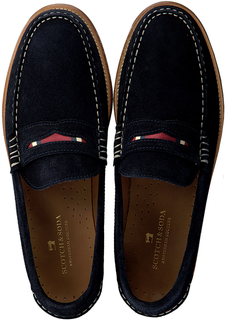 Blue SCOTCH & SODA Loafers REUS  - large