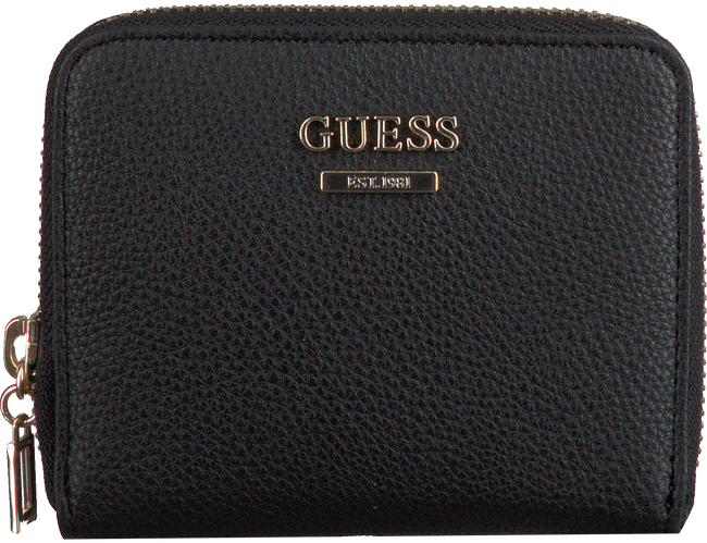Black GUESS Shoulder bag DESTINY SLG SMALL ZIP AROUND  - large