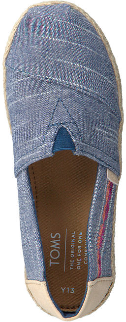 Blue TOMS Slip-on shoes ALPARGATA  - large
