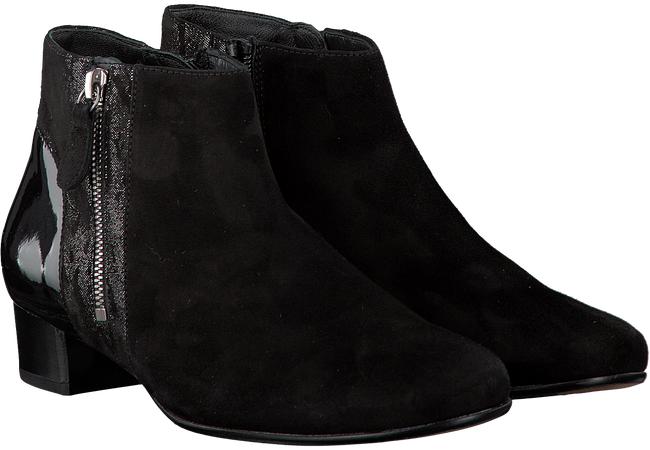 Black HASSIA Booties 303484 - large