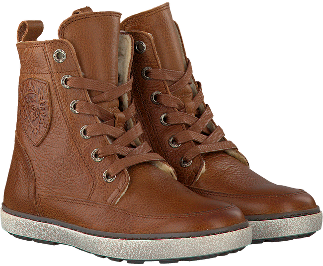 Cognac GIGA Ankle boots 8833 - large