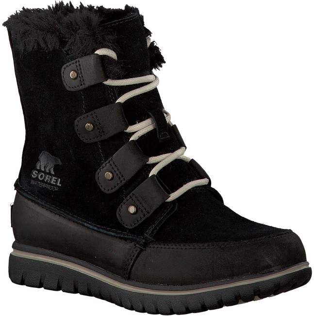Black SOREL Ankle boots COZY JOAN - large