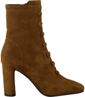 Cognac LOLA CRUZ Booties 392T30BK-D-I19  - medium