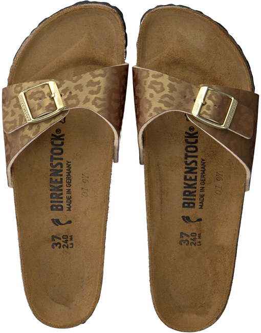 Gold BIRKENSTOCK Slippers MADRID  - large