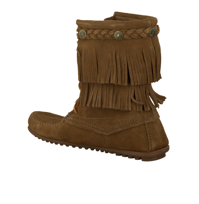 Brown MINNETONKA Booties 623 - large
