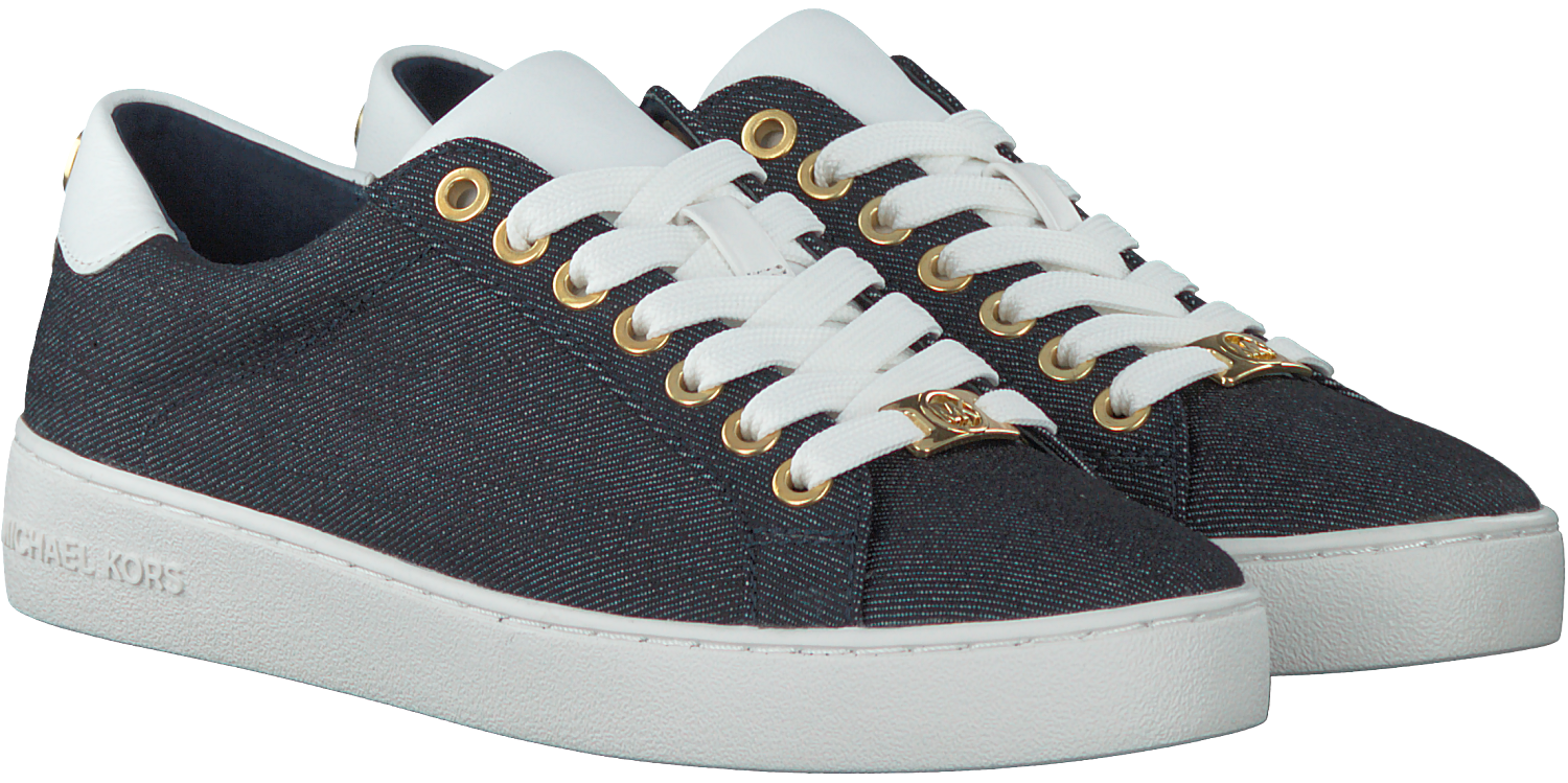 cdc49d2e61e Blue MICHAEL KORS Sneakers IRVING LACE UP - Omoda.com