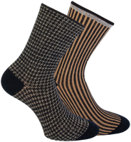 Black MARCMARCS Socks BEAU COTTON  - medium