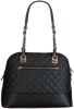 Black GUESS Shoulder bag ILLY DOME SATCHEL  - small