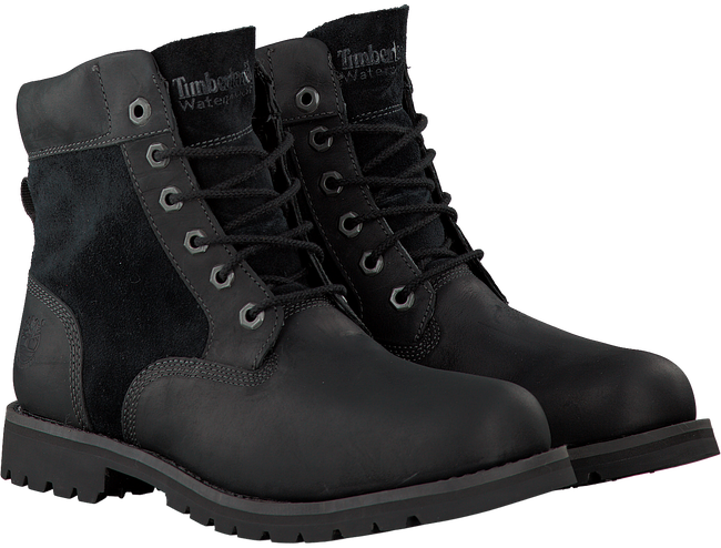 Black TIMBERLAND Ankle boots LARCHMONT 6IN WP BOOT - large