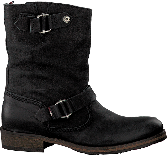Black TOMMY HILFIGER High boots AVIVE 2A - large