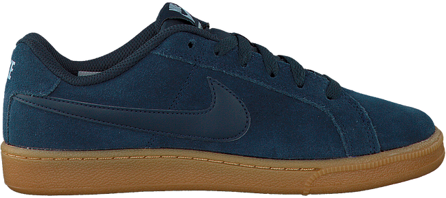 Blue NIKE Sneakers COURT ROYALE SUEDE WMNS - large