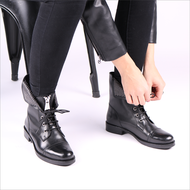 Black NIKKIE Lace-up boots N 9 651 1901  - large