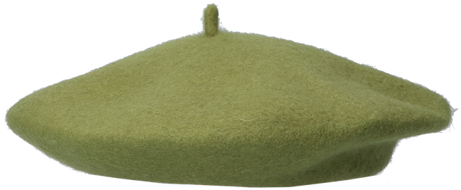 Green Yehwang Hat BARET MADAME 2.0  - large