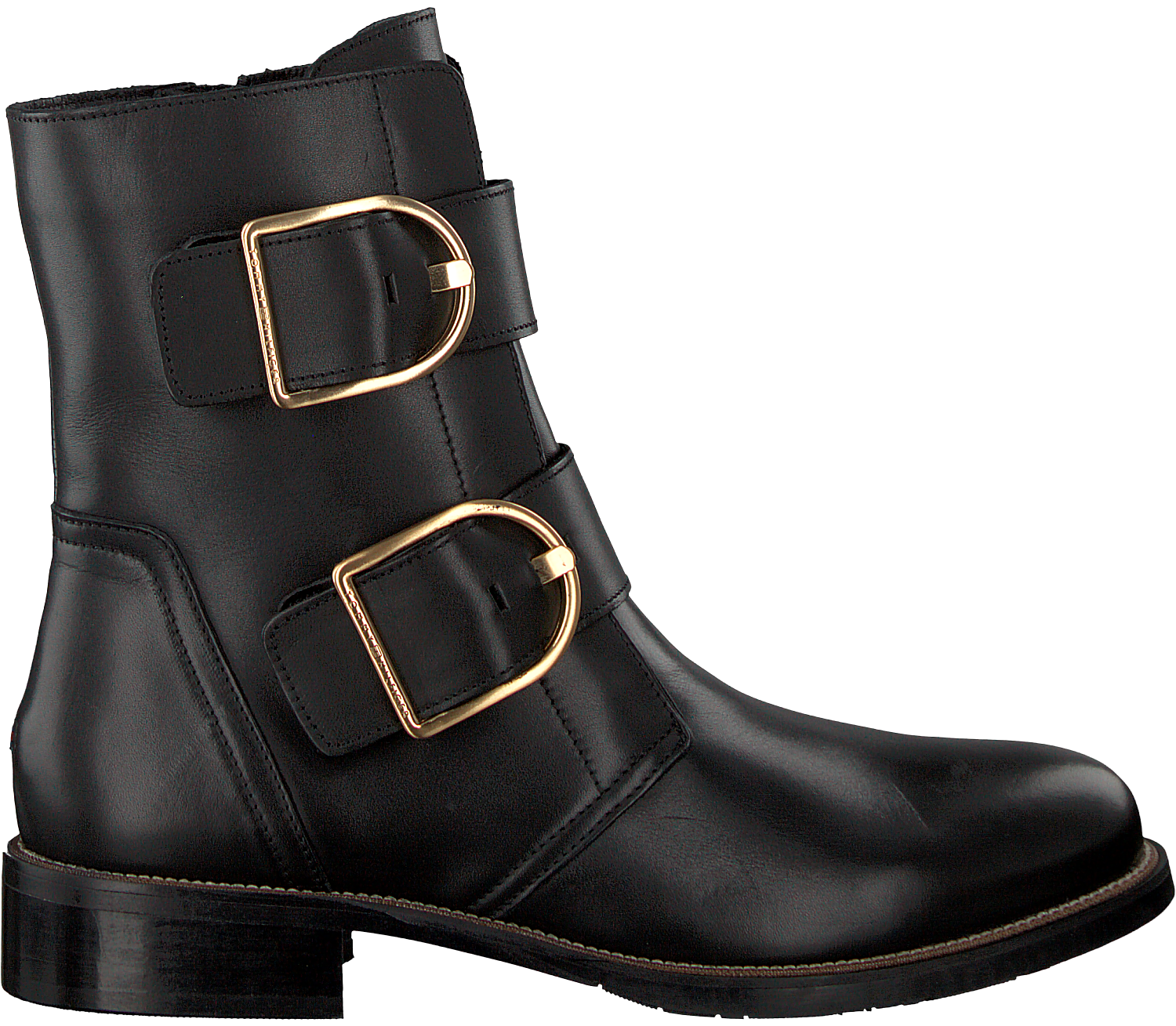 fde54b7dba9fc Black TOMMY HILFIGER Chelsea boots OVERSIZED BUCKLE FLAT BOOT - large. Next
