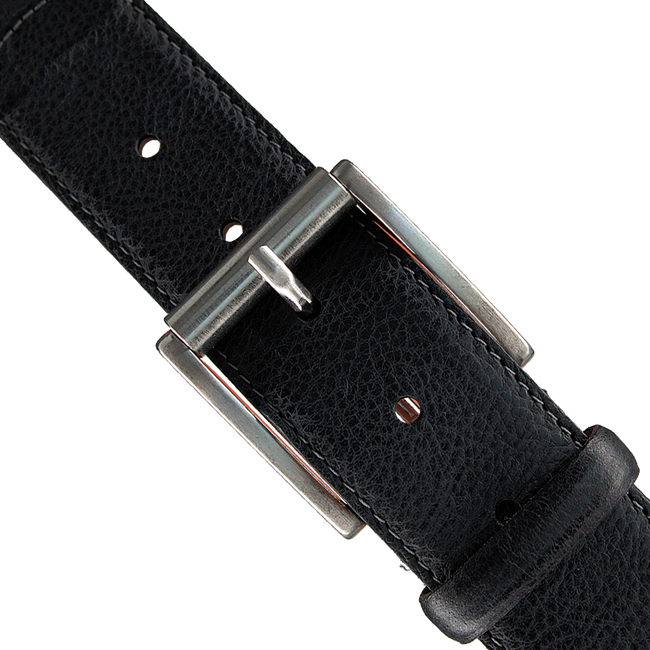 Black VAN LIER Belt RIEMEN - large