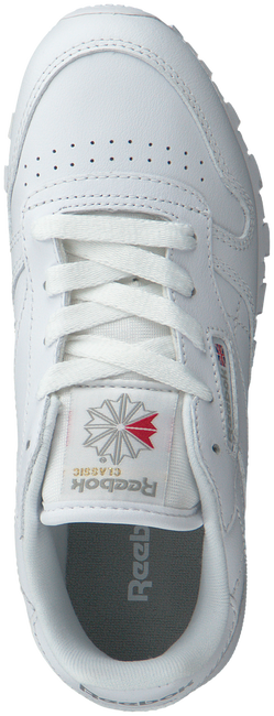 White REEBOK Sneakers CLASSIC LEATHER KIDS - large