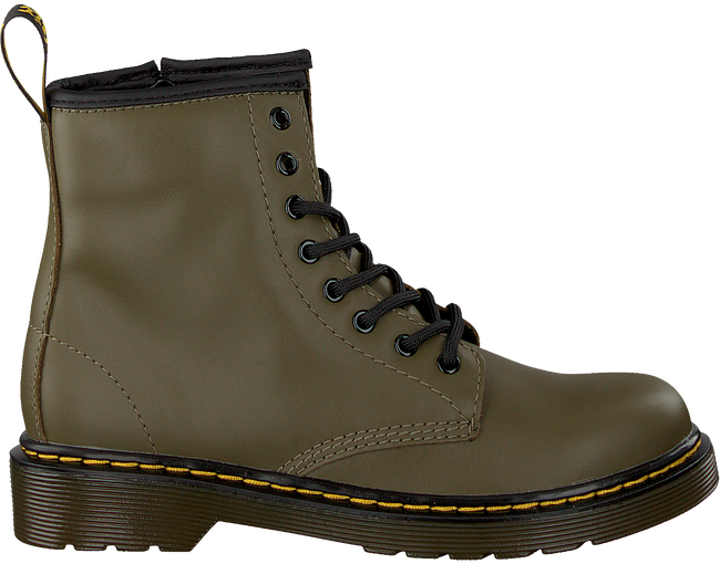 Green DR MARTENS Lace-up boots 1460 J  - large