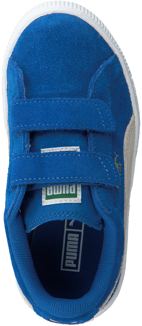 Blue PUMA Sneakers SUEDE 2 STRAPS - large
