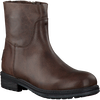 Brown SHABBIES Booties 172-0062SH - small