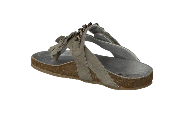 Taupe CLIC! Flip flops 2163 - large