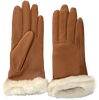 Cognac UGG Gloves CLASSIC LEATHER SMART GLOVE - small