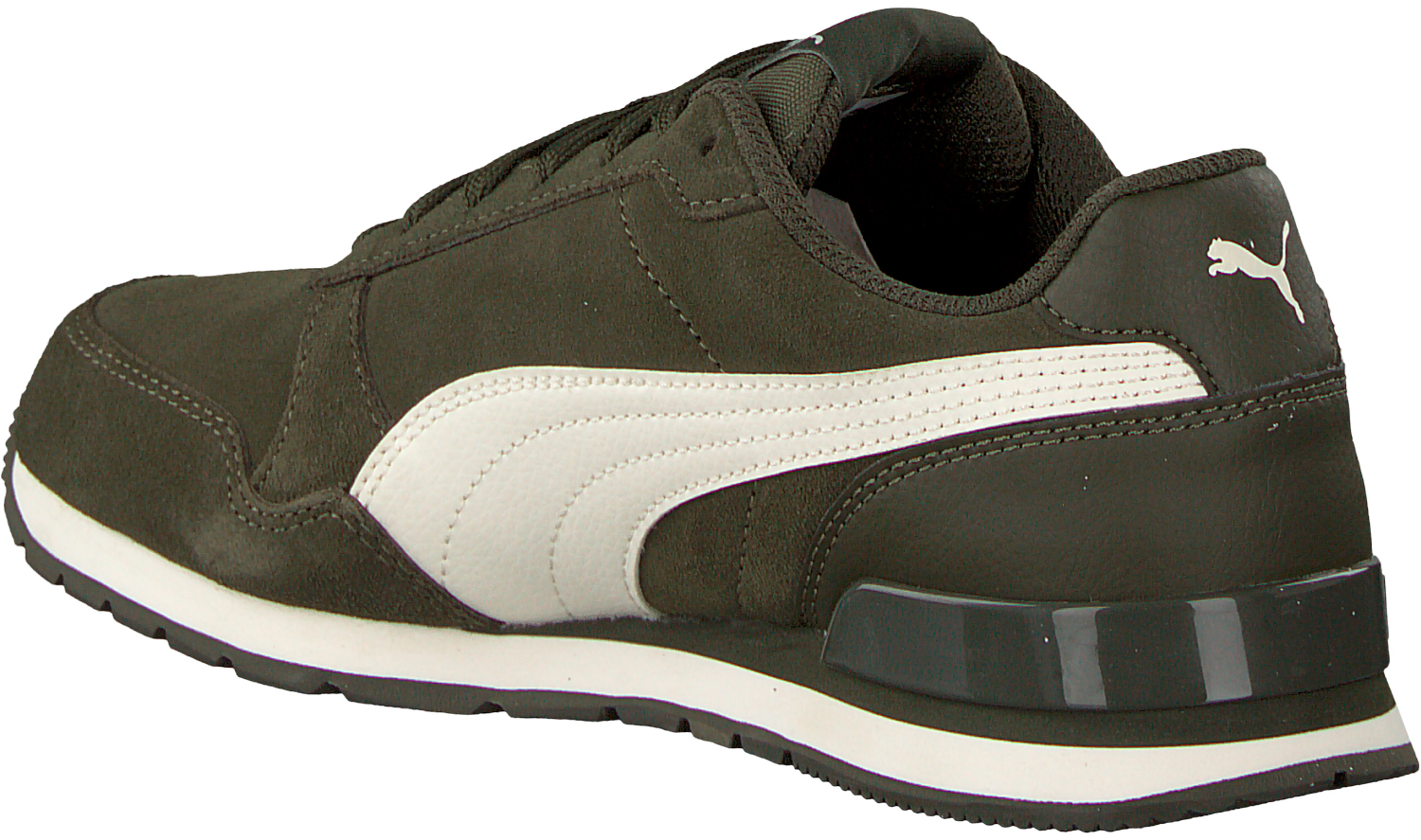 Green PUMA Sneakers ST RUNNER V2 SD JR - Omoda.com
